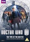 DOCTOR WHO THE TIME OF THE DOCTOR DVD cover 2014 release
