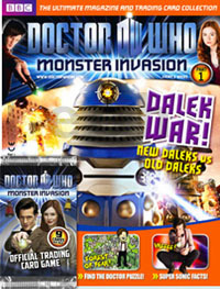 DOCTOR WHO MONSTER INVASION