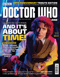 DOCTOR WHO MAGAZINE cover