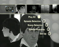 DOCTOR WHO - THE INVASION - DVD GRAPHICS MENU