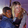 Rose Tyler and her boyfriend, Mickey Smith in danger