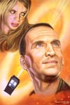The Ninth Doctor and Rose Tyler - Andrew Skilleter