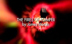 DOCTOR WHO - THE FIRES OF POMPEII - JAMES MORAN - DAVID TENNANT and CATHERINE TATE