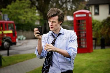 DOCTOR WHO Matt Smith as the Doctor