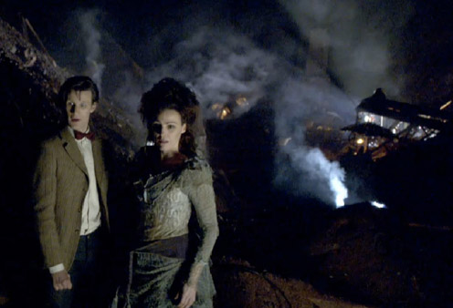 (C) DOCTOR WHO The Doctor and Idris