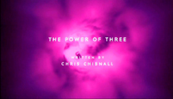 THE POWER OF THREE writer credit