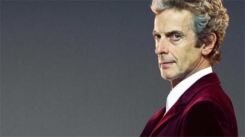 DOCTOR WHO Peter Capaldi as the 12th Doctor